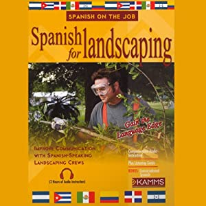 Spanish for Landscaping Audiobook