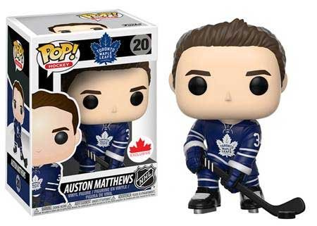 POP! NHL Hockey 020: Toronto Maple Leafs- AUSTON MATTHEWS (HOME) Exclusive