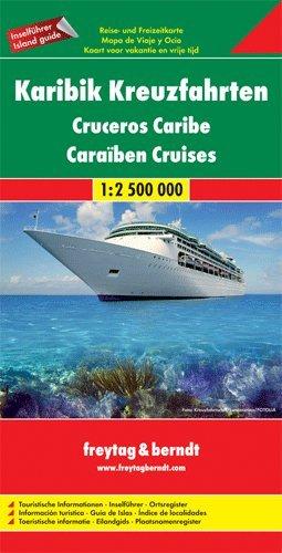 Caribbean Cruise 1:2,500,000 Map, 2011 edition