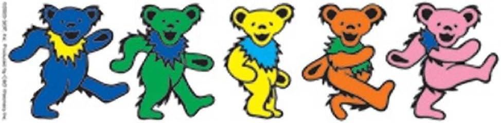 S-3025-C C/&D Visionary Grateful Dead Dancing Bears Sticker