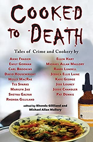book cover of Cooked to Death: Tales of Crime and Cookery