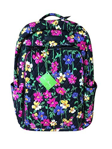 Vera Bradley Womens Laptop Backpack,Wildflower - Stores Outlets Vero