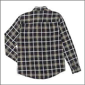 losan - Camisa de Manga Larga con Cuadros 3017 para Hombre Kaki 3XL: Amazon.es: Ropa y accesorios