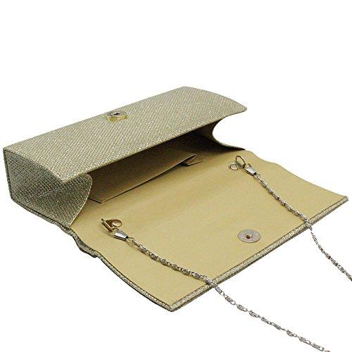 Wedding Evening Lady Gold Clutch Party HandBag UK Women's Scale Bag Wocharm New Fashion Glitter Printing wxZSnFxvq0