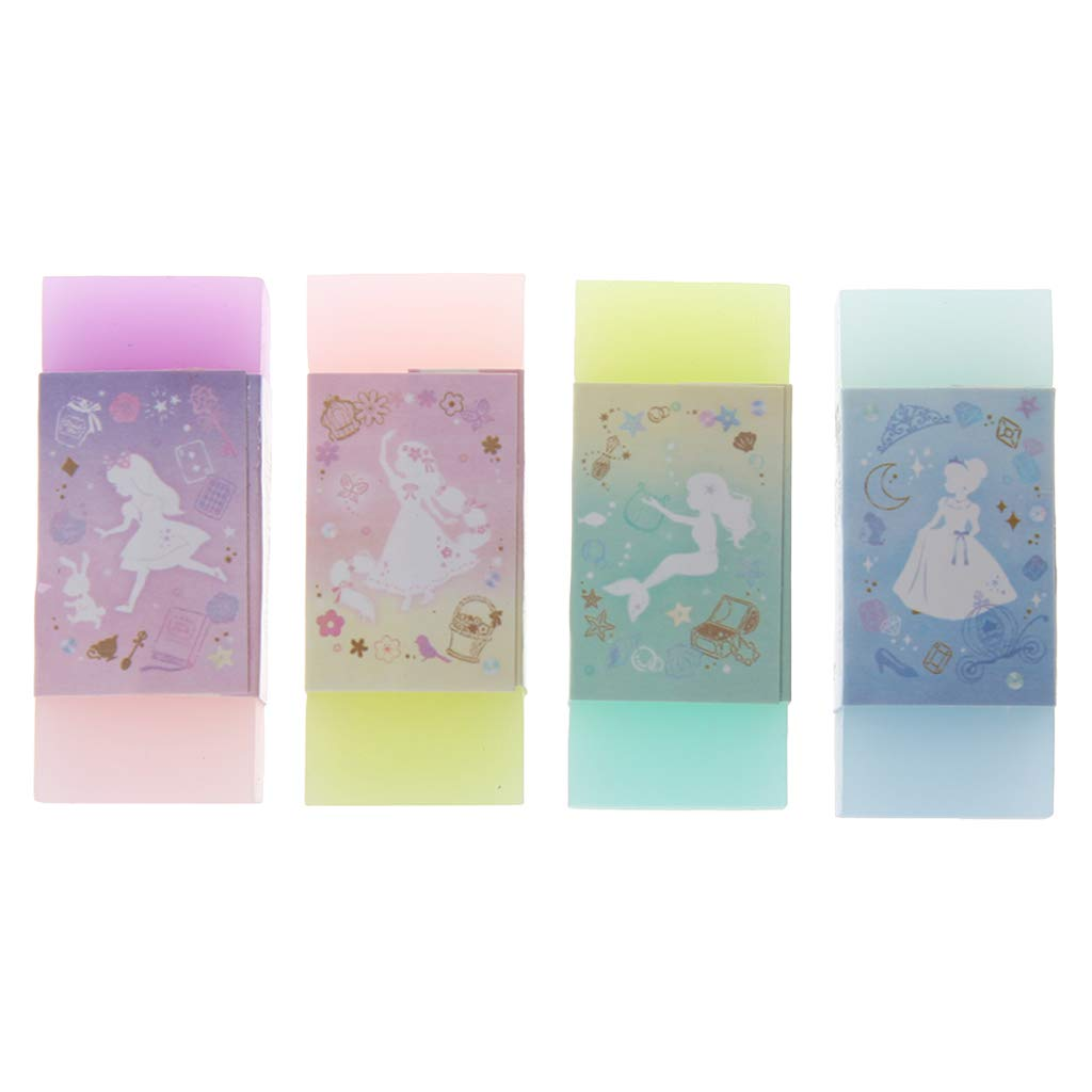 Forgun Cute Style Double Color Eraser Primary Student Prizes Student Gift Stationery