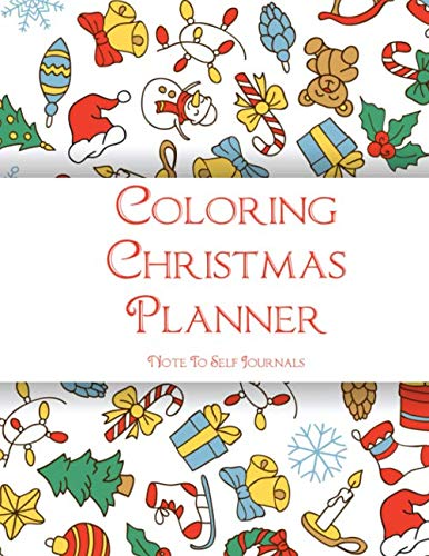 Coloring Christmas Planner: Plan Your Entire Holiday Season (Buffet Ideas Menu Lunch Christmas)