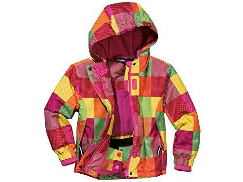 Kleinkinder Mädchen Schneejacke Skijacke Mehrfarbig 86/92