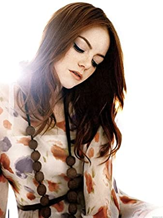 Emma Stone | 24inch X 32inch | Silk Printing Manifesto Di Seta ...