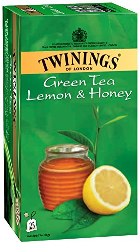 Twinings 1 Green Tea Lemon And Honey, 25 Tea Bags (Tea Bags Green Twining)