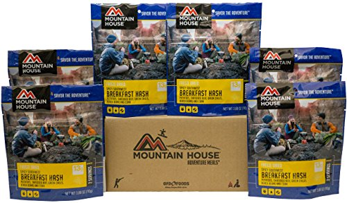 Mountain House Spicy Southwest Breakfast Hash 6-Pack by Mountain House