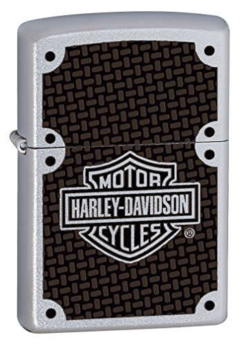 Zippo Harley-Davidson Carbon Fiber Pocket Lighter