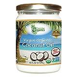 Organic Superior Unrefined Virgin Coconut Oil, Coconut Oil For Skin,...