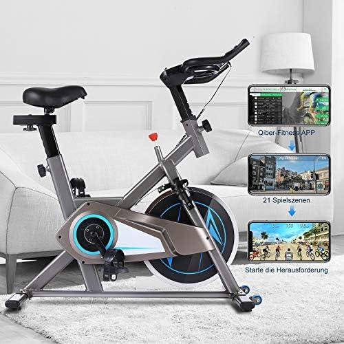Ancheer Bicicleta Estática de Spinning Bicicleta Interior Volante ...
