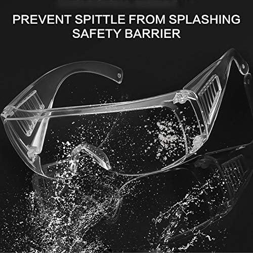 Gafas de seguridad con protecci/ón para los ojos termo digital gafas de seguridad protecci/ón de los ojos antivaho y antisalpicaduras Maso