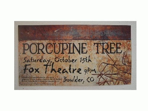 Porcupine Tree Poster the