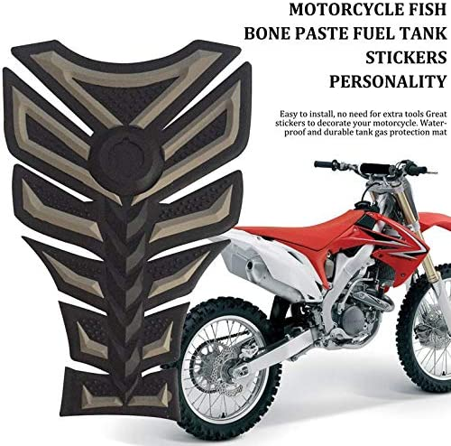Personality Modification 3D Rubber Motorcycle Modified Decal Sticker Gas Oil Fuel Tank Pad Protector