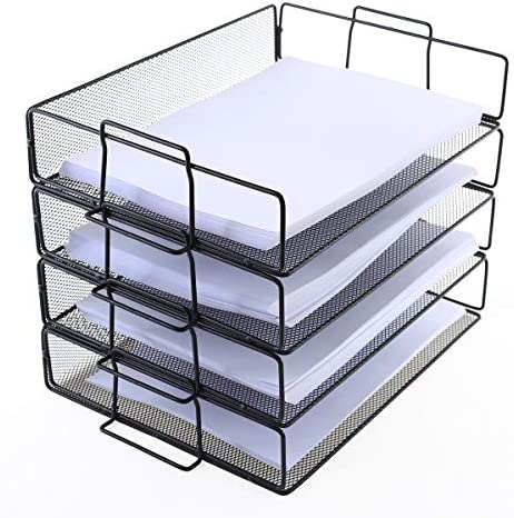 Letter Stackable Organizer Desktop Document product image