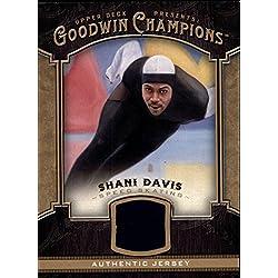 2014 Upper Deck Goodwin Champions Memorabilia #MSD Shani Davis D