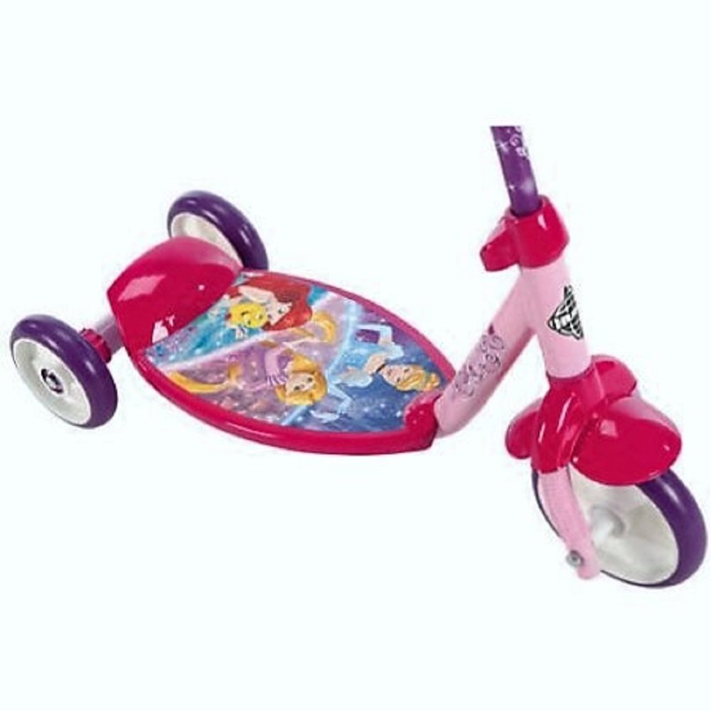 Amazon.com: Huffy las niñas Disney Princess 3 Rueda Scooter ...