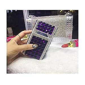 YXHUI Caja de cigarrillos, Creative Diamond Jewel Estuche de ...