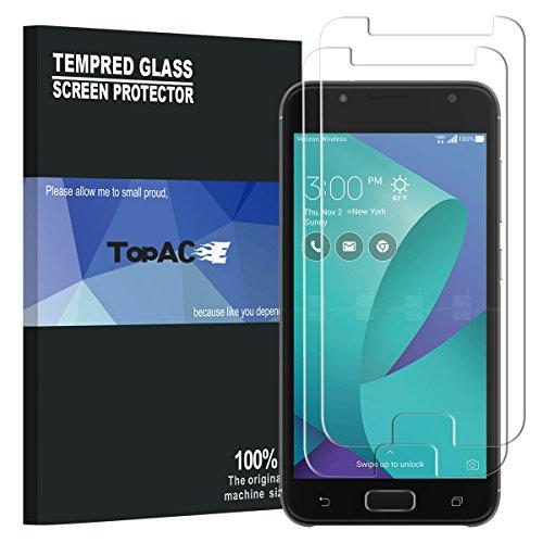 Asus ZenFone V Live Screen Protector, TopACE Premium Quality Tempered Glass 0.3mm Film for Asus ZenFone V Live V500KL 5.0 Inch Verizon (2 Pack)
