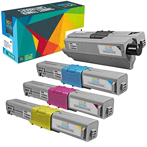 - Do it Wiser Compatible Toner for OKI Okidata C332dn C332 MC363dn MC363 Printers - 46508704, 46508703, 46508702, 46508701 (4-Pack)