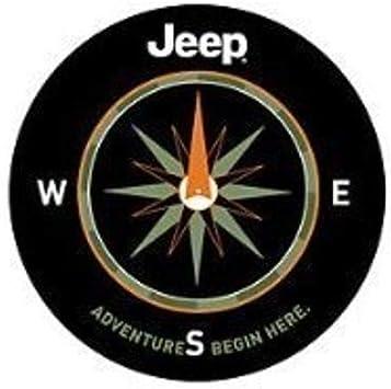 Car DIY Spare Tire Cover 15 inch BACKOF Logo Wheel Spare Tire Cover Denim Vinyl