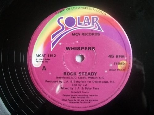 The Whispers - Rock Steady 12