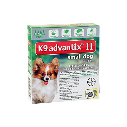 bayer-k9-advantix-ii-flea-tick-control-treatment-for-small-dogs-4-10-lbs-4-month-supply