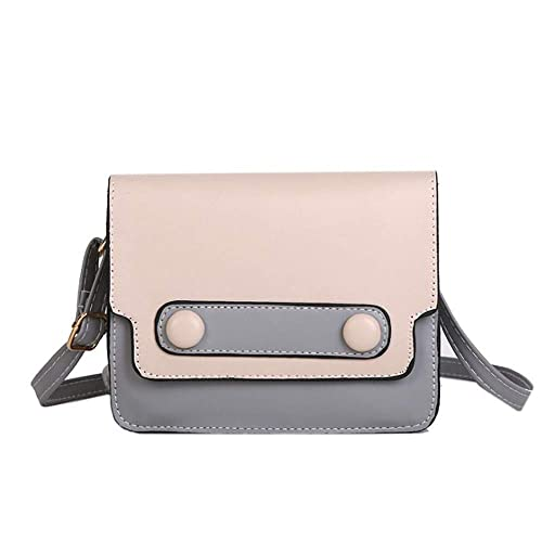21998bd5cf Amazon.com  Rakkiss Women Shoulder Bag Leather Retro Square Tote Simple  Pattern Crossbody Bag Thin Strap Messenger Bag  Shoes