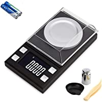 Diagtree Digital Mini Scale, Digital Pocket Scale 200g 0.01g/0.001oz Pocket Jewelry Scale, Electronic Smart Scale with 7 Units, LCD Backlit Display, Tare Function