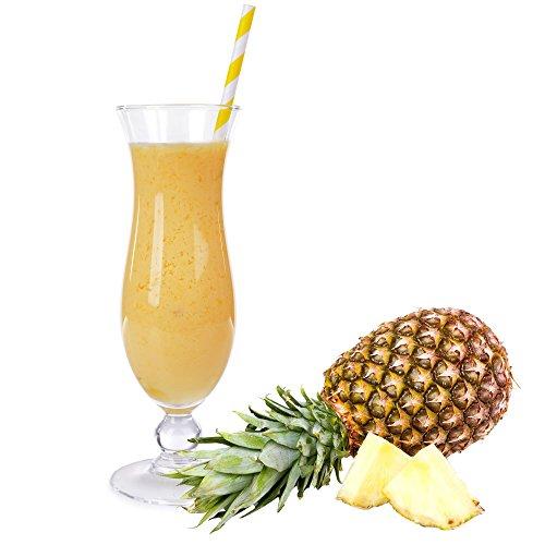 1 Kg Ananas Geschmack Eisgetränkepulver für 9 Liter Smoothi Slush Sorbet Granita Eisgetränke Eis Cocktails