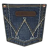 Wrangler Women's Retro Mae Jeans Boot Cut Blue 9W x
