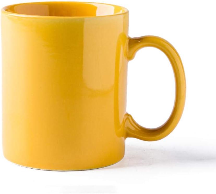 Yellow Color Modern Turkish Cheap Ceramic Coffee Tea Cups