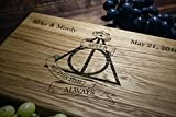 Always Harry Potter After all this time Custom Personalized Engraved Cutting Board Wedding Gift, Anniversary Housewarming Gift Birthday Snape harry10