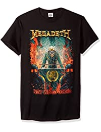 FEA Mens Megadeth New World Order Mens T-Shirt T-Shirt