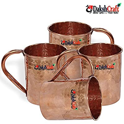 Dakshcraft Copper mugs Sales & Specials - Better Homes and Gardens (Capacity - 500 ml / 16.90 oz)