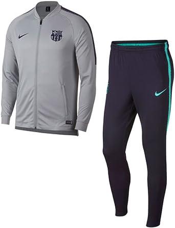 Nike FCB M Nk Dry Sqd TRK K Chándal, Hombre: Amazon.es: Ropa y ...
