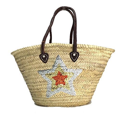 Buckle Up , Borsa da spiaggia  Naturale silber-gold-bronze