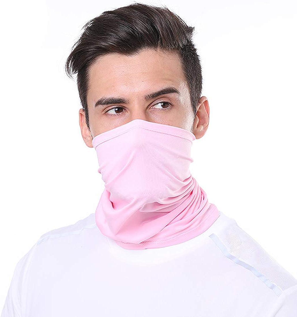 Unisex Seamless Multifunctional Headwear Face Mask Headband Neck Gaiter