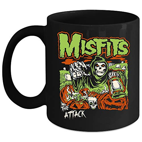 Misfits The Attack Mug, Misfits Anniversary Band Cup, Halloween Mug (Coffee Mug 15 Oz - -