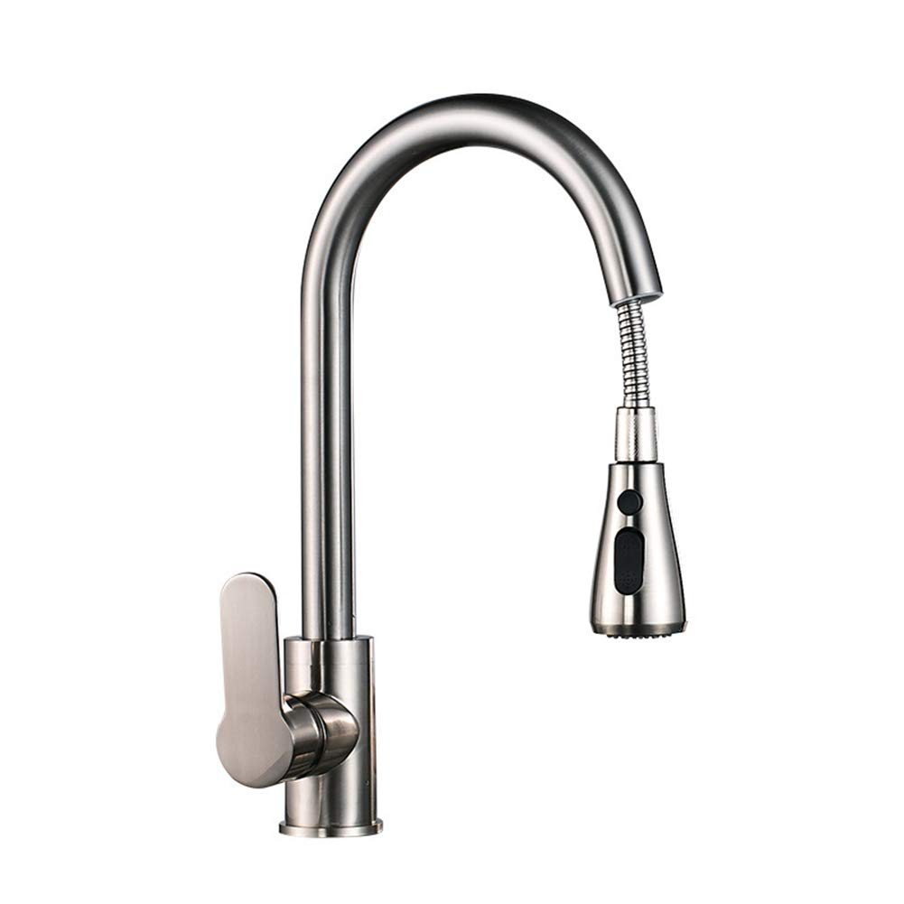 XHC Stainless Steel Kitchen Faucet Hot and Cold Sink Faucet Sink Faucet