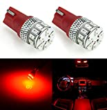 JDM ASTAR Extremely Bright 3014 Chipsets 194 168 2825 W5W T10 New Style LED Bulbs,Brilliant Red