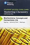img - for Mastering Chemistry with Pearson eText -- Standalone Access Card -- for Biochemistry: Concepts and Connections (2nd Edition) book / textbook / text book