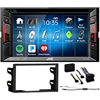 JVC DVD Player Monitor w/Bluetooth/USB/iPhone/Android For 03-06 Volkswagen Golf