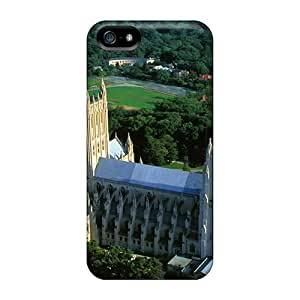 New Cute Funny Washington National Cathedral Washington Dc Cases Covers/ Iphone 5/5s Cases Covers