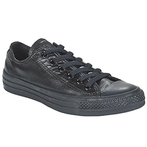 Omgekeerde Unisex Chuck Taylor All Star Ox Basketbalschoen (6 B (m) Us Women / 4 D (m) Us Me, Black)