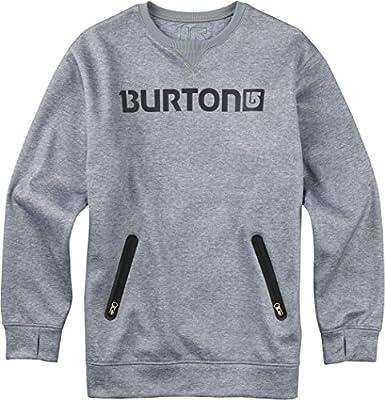 Burton - Sudadera - para Hombre High Rise Heather Talla:Small