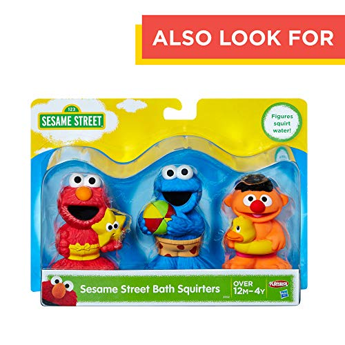 Sesame Street Bath Time Elmo: Elmo Bath Time Toy for Toddlers, Cute Swim Trunks Outfit, Soft and Washable, Toy for 18 Month Olds and Up by Sesame Street (Image #5)
