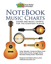 Notebook Music Charts: Chord and Music Charts for the Everyday Player